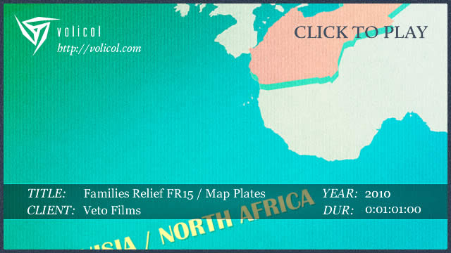 Families Relief FR 15 ~ Map Plates