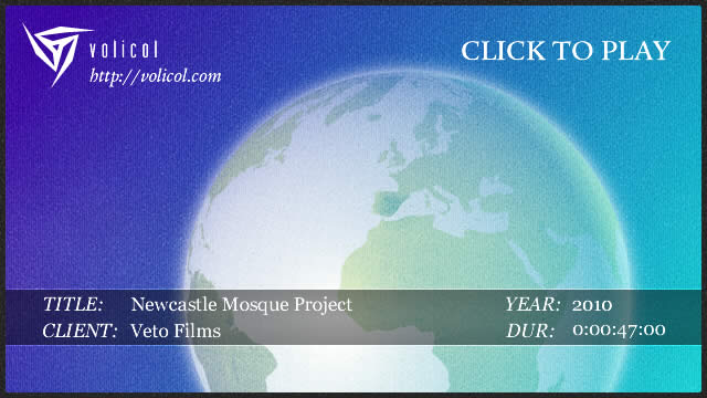 Newcastle Mosque DVD
